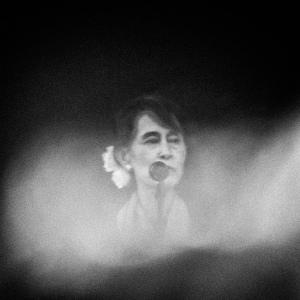 Aung San Suu Kyi, by geirf (Creative Commons)
