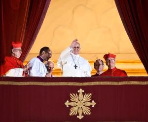 "'""Habemus Papam"" - Cardinal Jorge Mario Bergoglio, S.J., has been elected Pope Francis' - Catholic Church (England and Wales) (Creative Commons)"